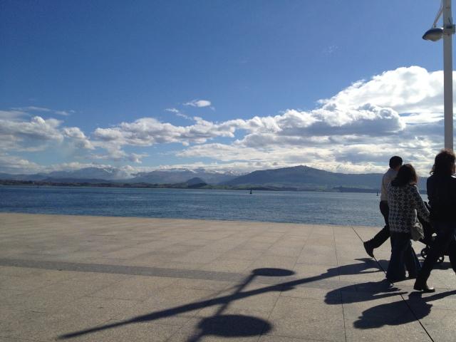 port bay Puertochico Santander