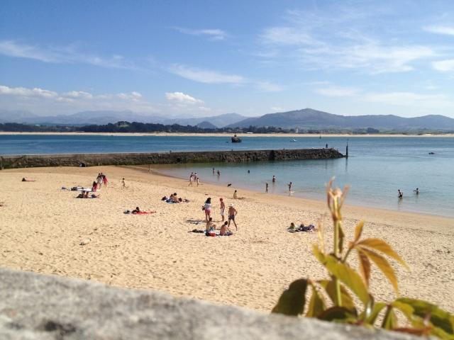 Bikins beach playa Santander Urban beaches