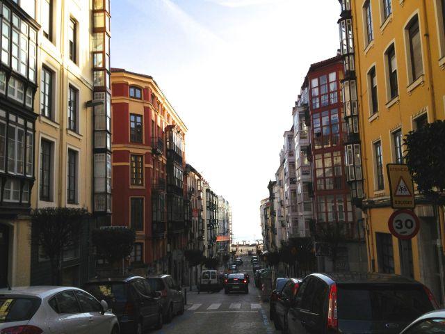 Lope de Vega street Santander