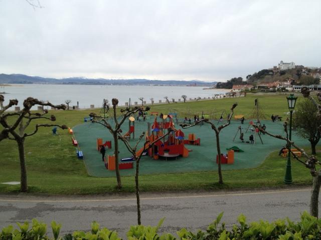 playground on the beach Santander