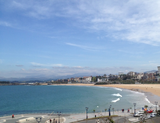 Sardinero beach playa Santander Urban Beaches