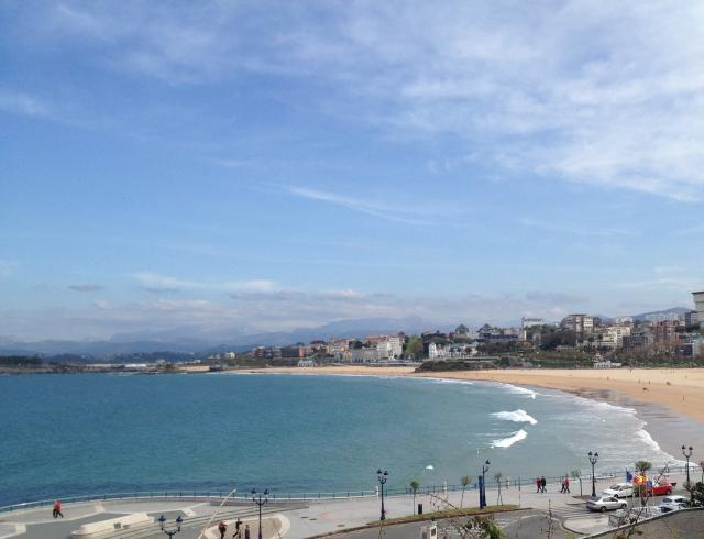 Sardinero beach playa Santander Urban Beaches
