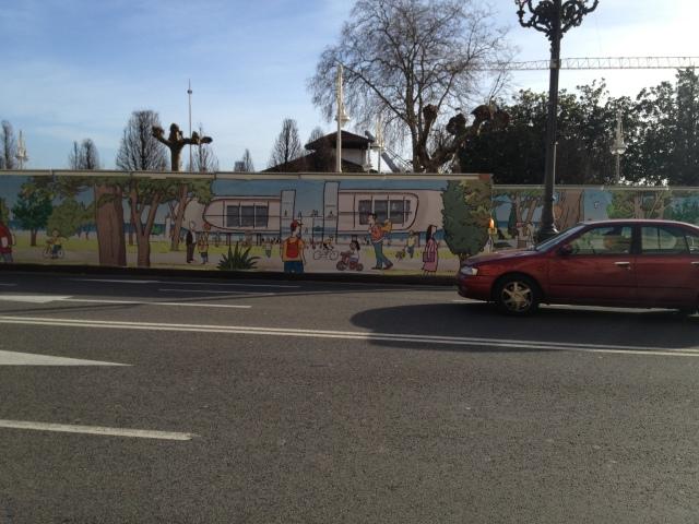 wall Centro Botin Santander