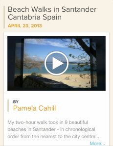 My Animoto 30-second video of Beach Walks in Santander