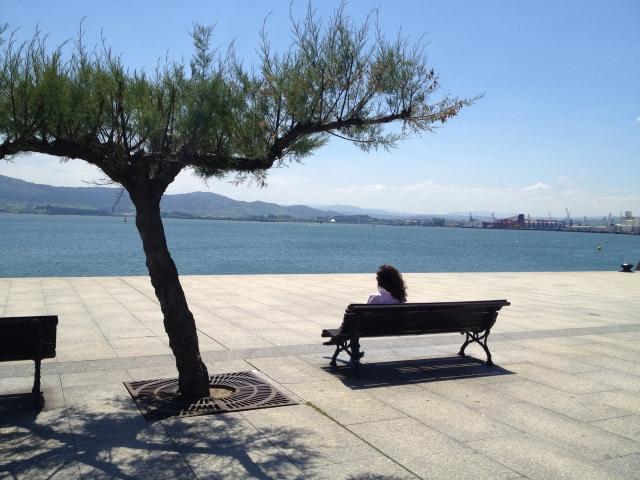 Bay of Santander opposite Paseo de Pereda Santander