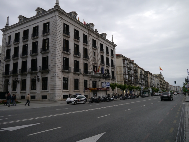 1941 Santander fire city reconstruction llamas incendio