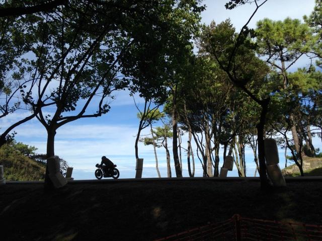 pamela cahill 2013 classic motorbikes Santander