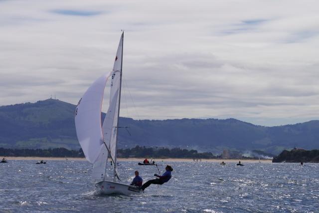 pamela cahill 2013 isaf sailing test event santander