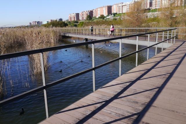 park parque llamas santander walkways