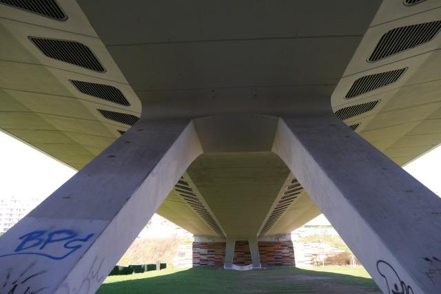 park parque santander llamas bridge