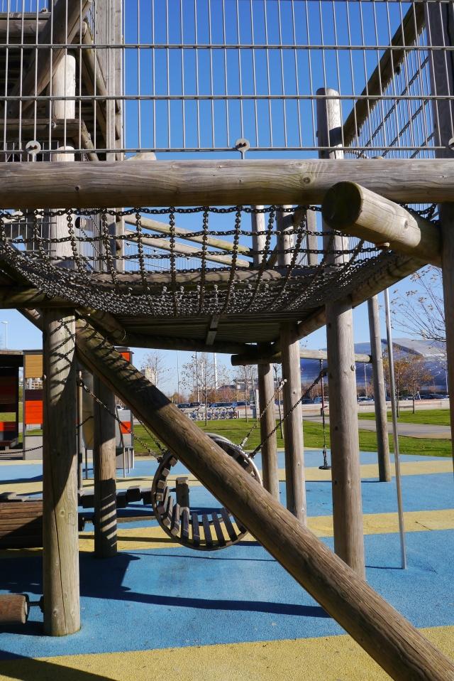 santander llamas park parque playground