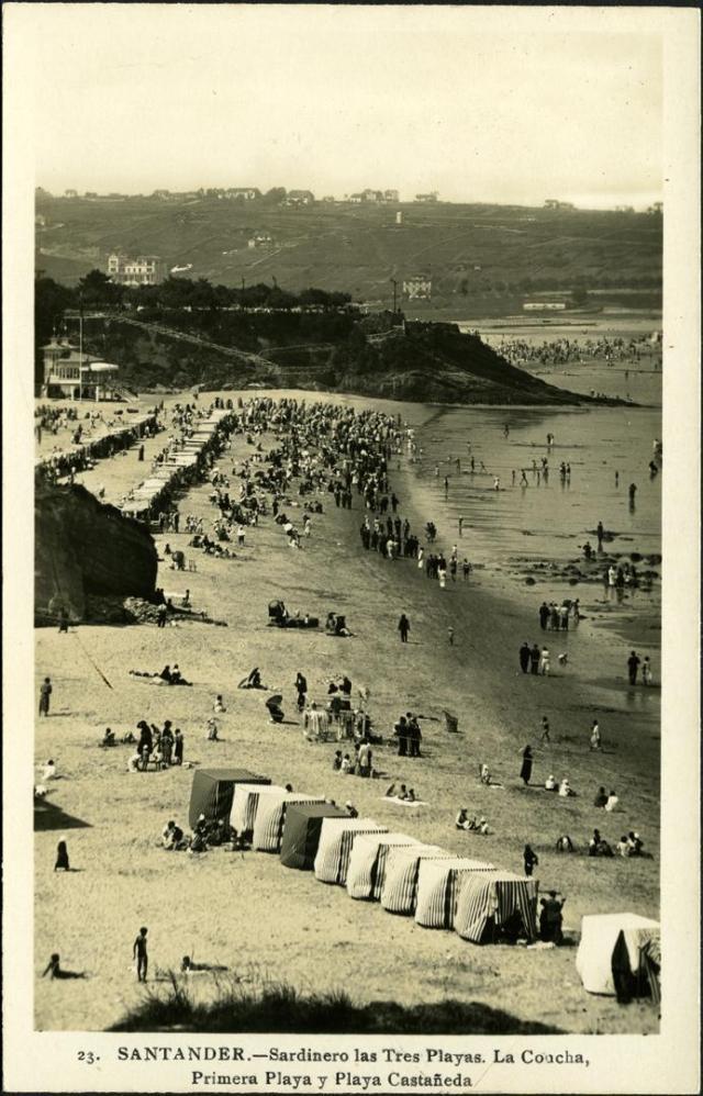 Pamela Cahill Kate O' Brien Sardinero Beach 1930s