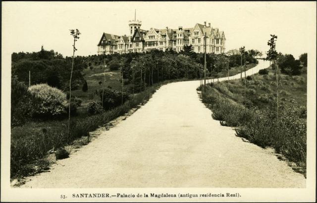 Pamela Cahill Kate O' Brien Magdalena Palace Santander 1930s
