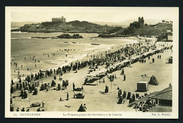Pamela Cahill Kate O'Brien Sardinero Concha beaches 1930s