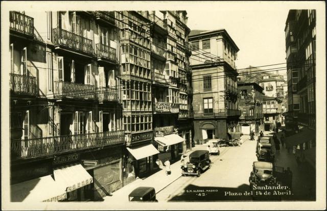 Pamela Cahill Kate O'Brien 1930s old squares Santander