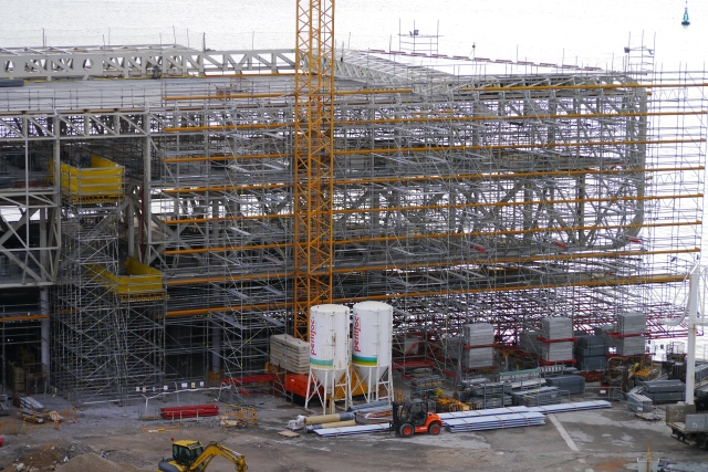 Botin Centre 2014 Santander building site