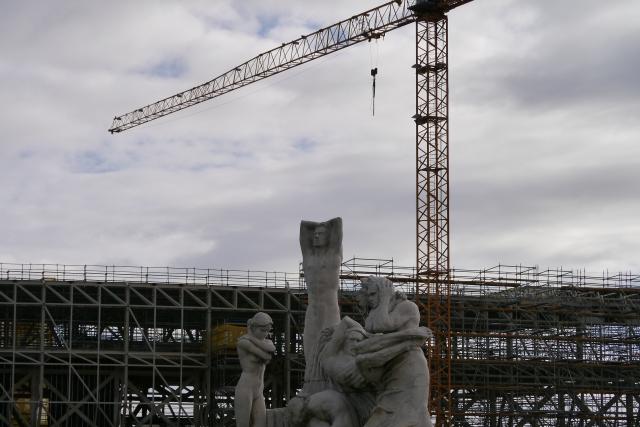 Botin Centre 2014 Santander Jose Cobo sculptures