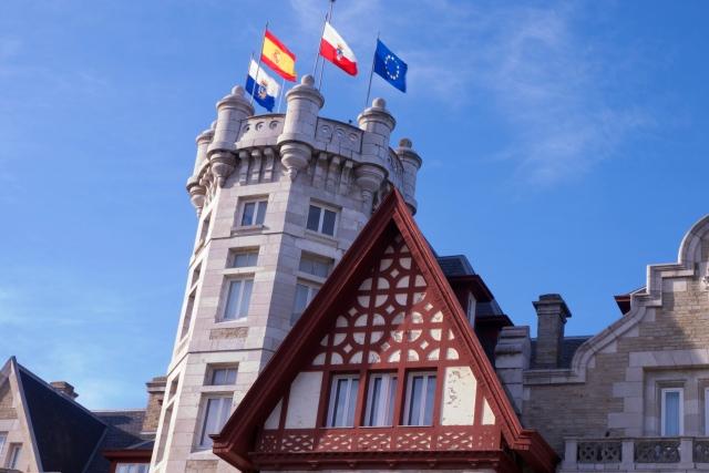 Pamela Cahill Magdalena Palace Palacio Santander Spain Tudor influences