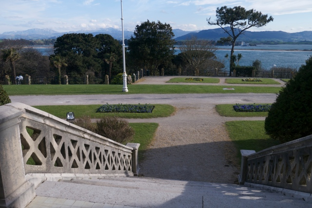 Pamela Cahill Magdalena Palace Palacio Santander Spain Views Stairways