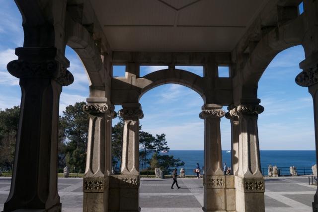 Pamela Cahill Magdalena Palace Palacio Santander Spain Carriage Entrance