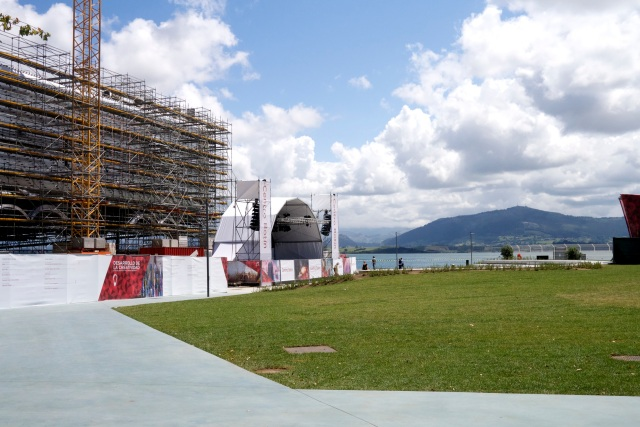 pereda gardens Santander Botin Centre Spain stage
