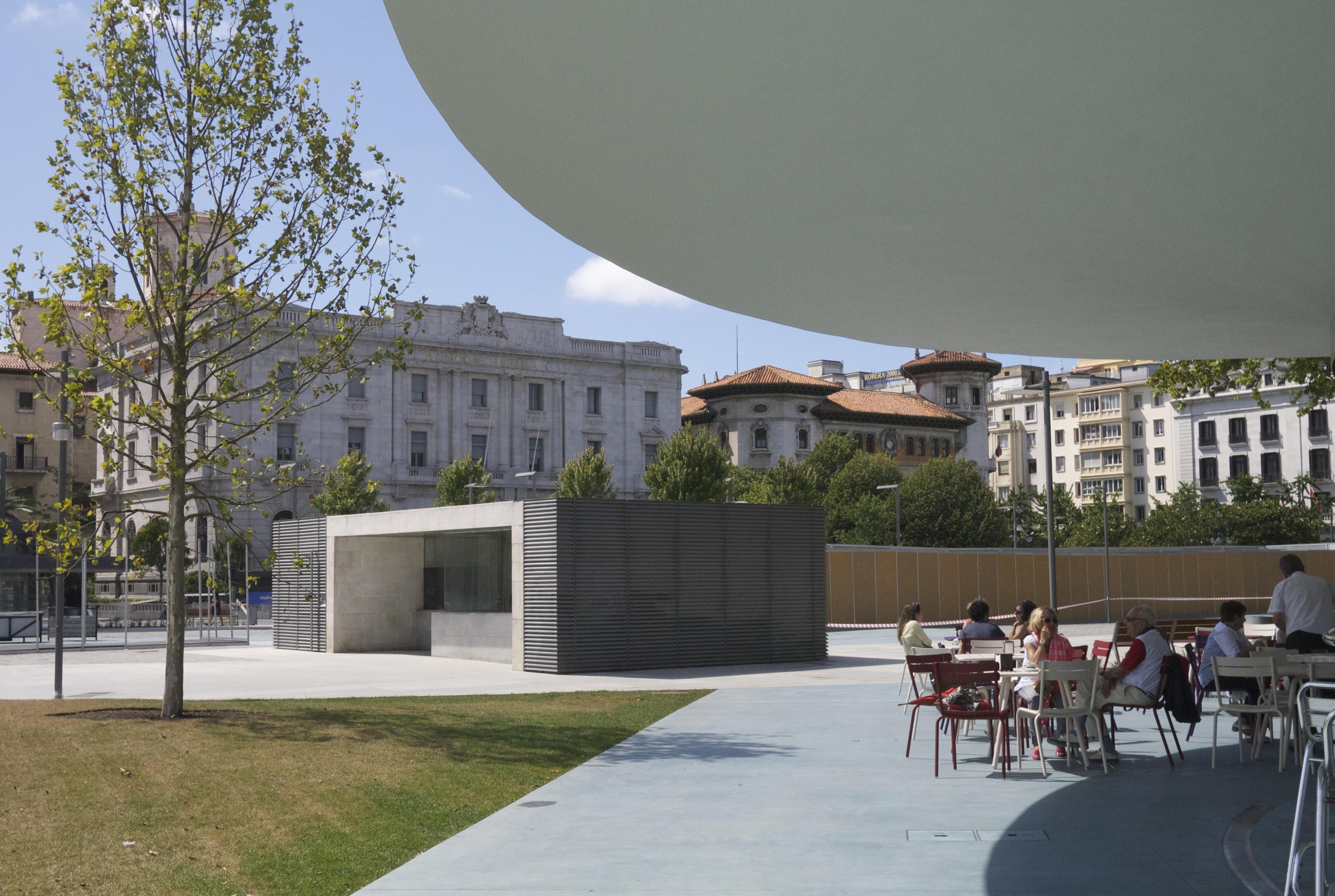 pereda gardens Santander Botin Centre Spain cafe