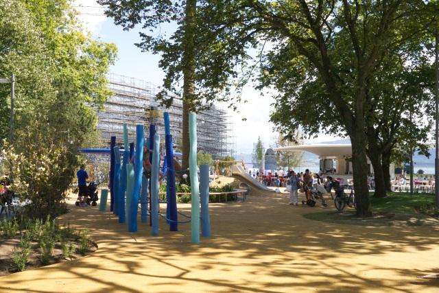 pereda gardens Santander Botin Centre Spain playground