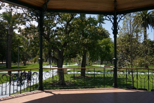 pereda gardens Santander Botin Centre Spain bandstand
