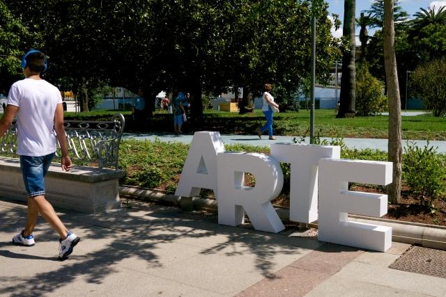 Santander Cantabria Spain Botin Centre Pereda Gardens Park