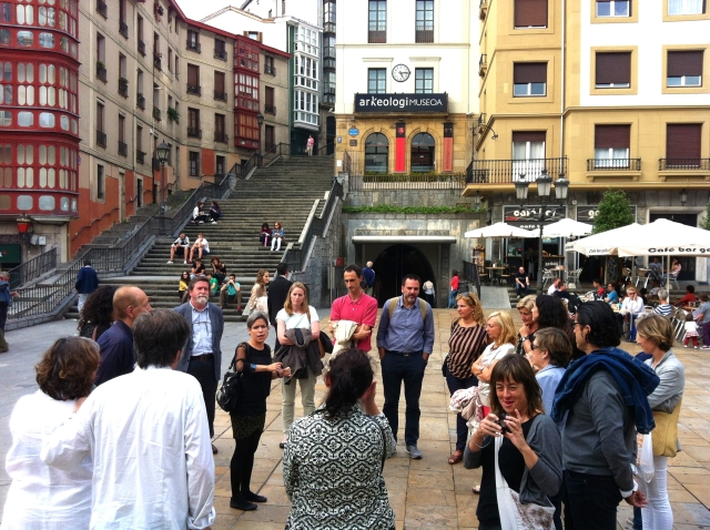 Basque Country visit old historic
