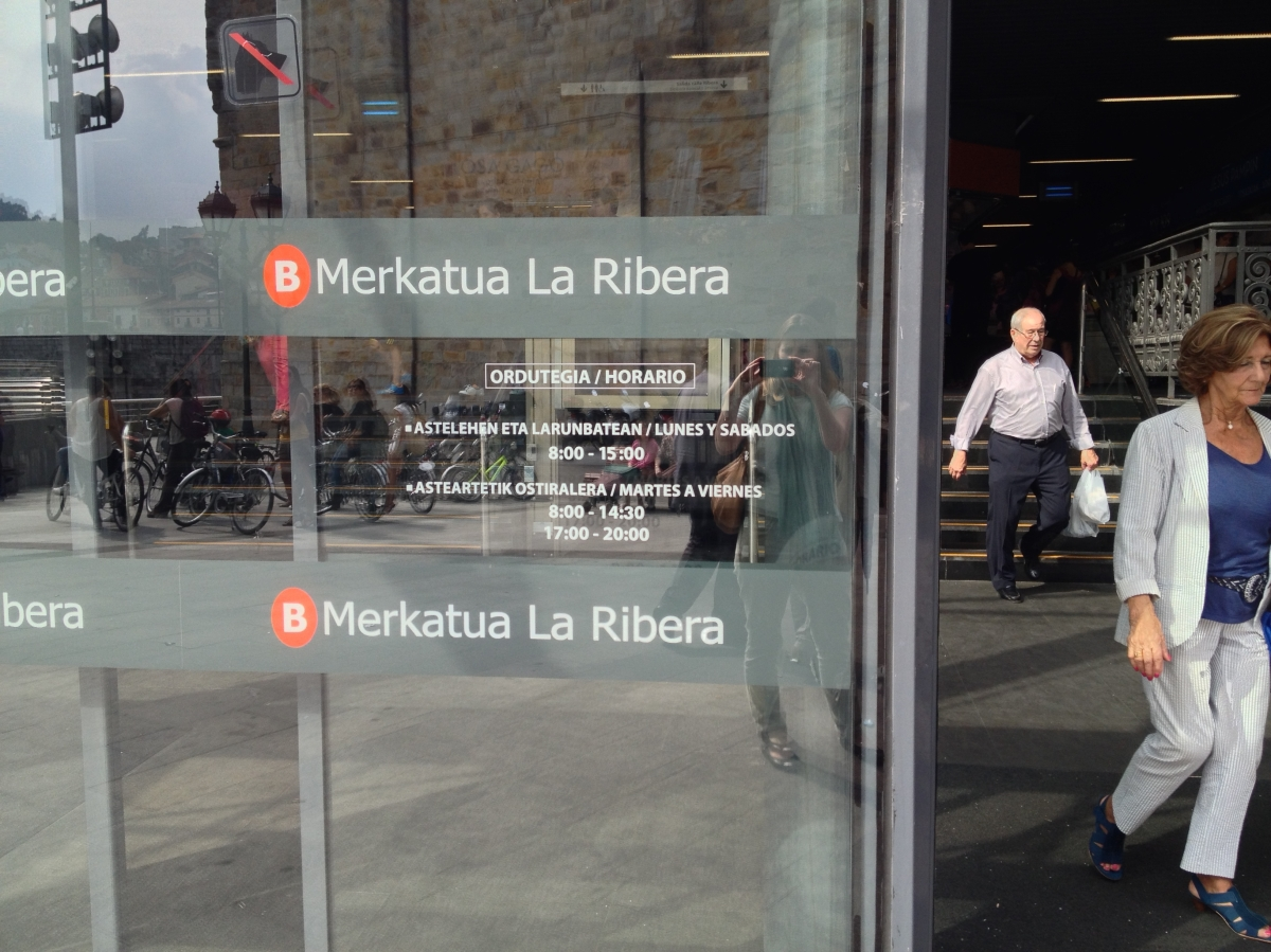 Visiting Ribera Foodmarket in Bilbao