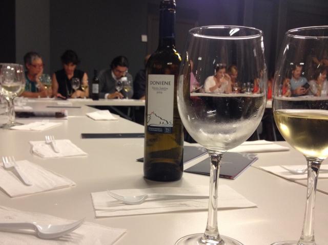 Alhondiga White wine Bilbao market Pais Vasco Spain