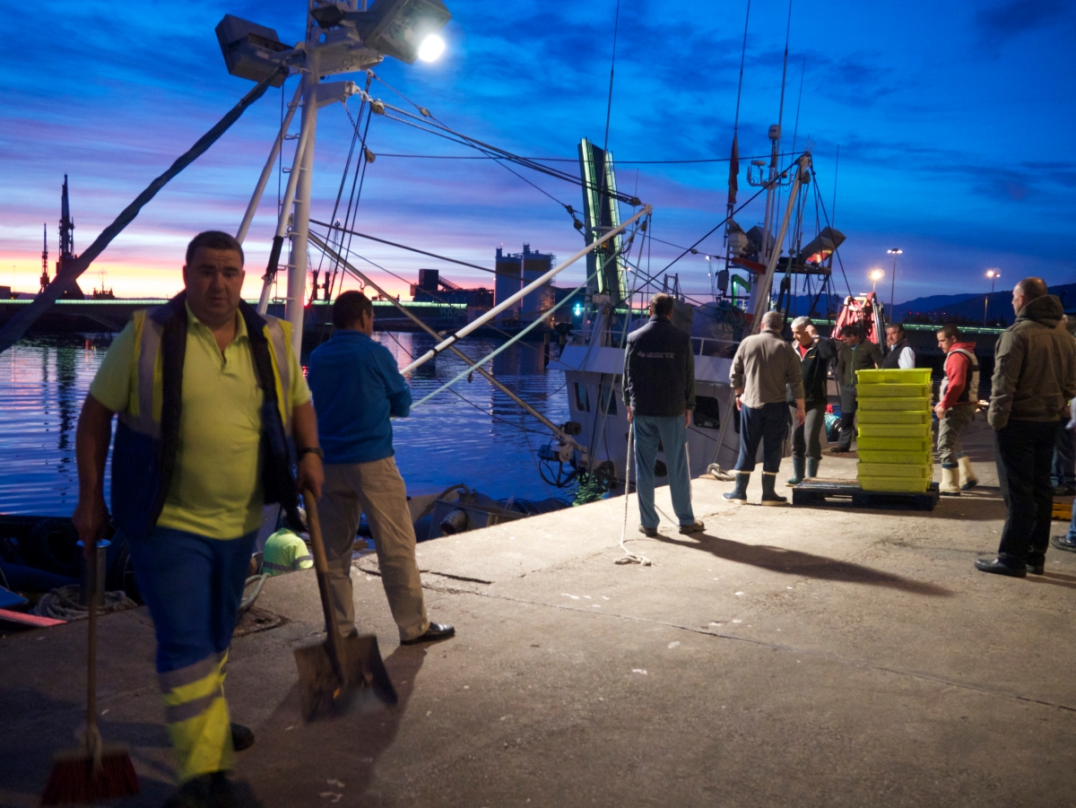 The Fish Market of all Fish Markets - Santander's Lonja in Northern Spain