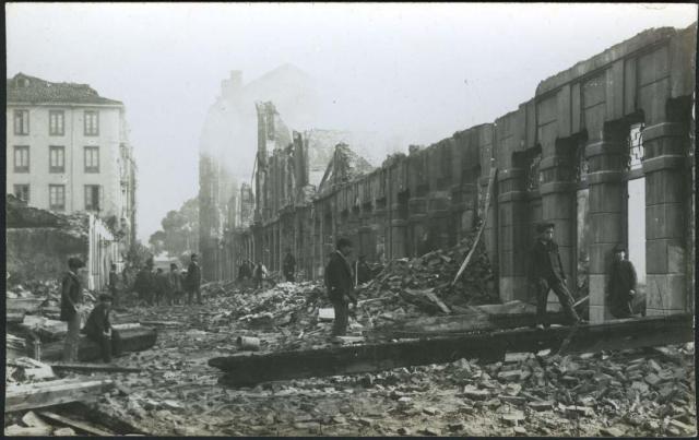 dynamite explosion Machichaco Santander Spain 1893 Mendez Nunez street