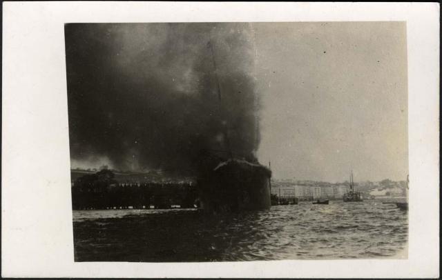 Machichaco tragedy disaster Santander ship 1893