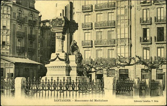 memorial monument Machichaco dynamite explosion Santander 1893