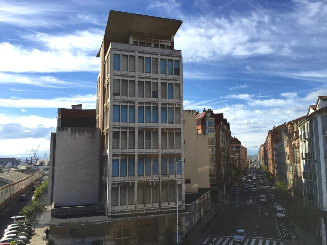 Cantabria civic centre high-rise tobacco building