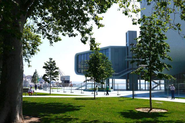 Centro Botín Centre Santander Cantabria Sapin Renzo Piano